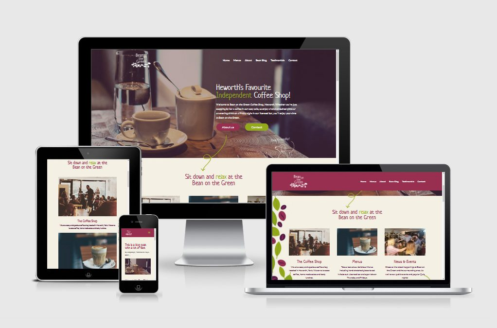Bean on the Green has a brand new website!